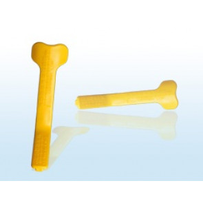 Massad Edentulous Lip Ruler (MELR) - YELLOW